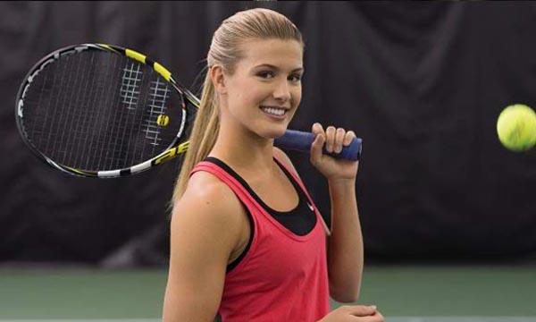 women tennis player nipple