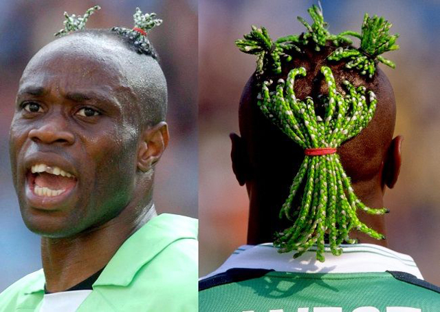 10 Bizarre Hairstyles in Football