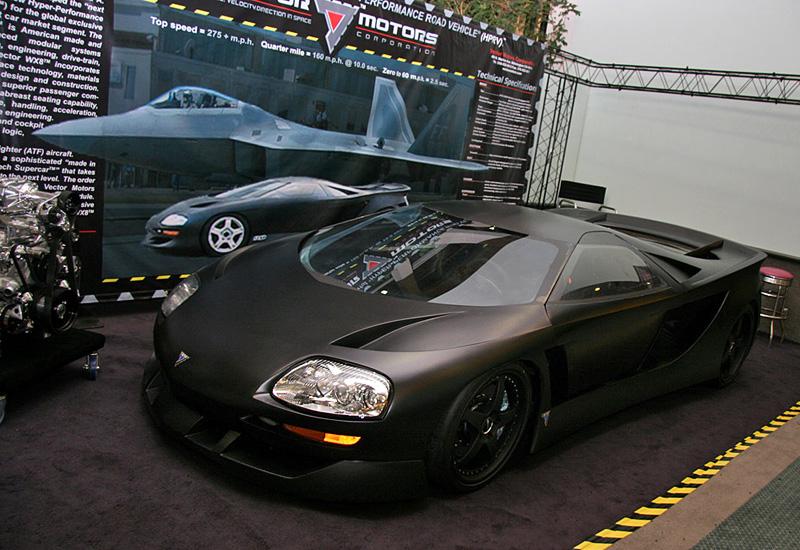 2008 Vector Avtech WX8 Hypercar
